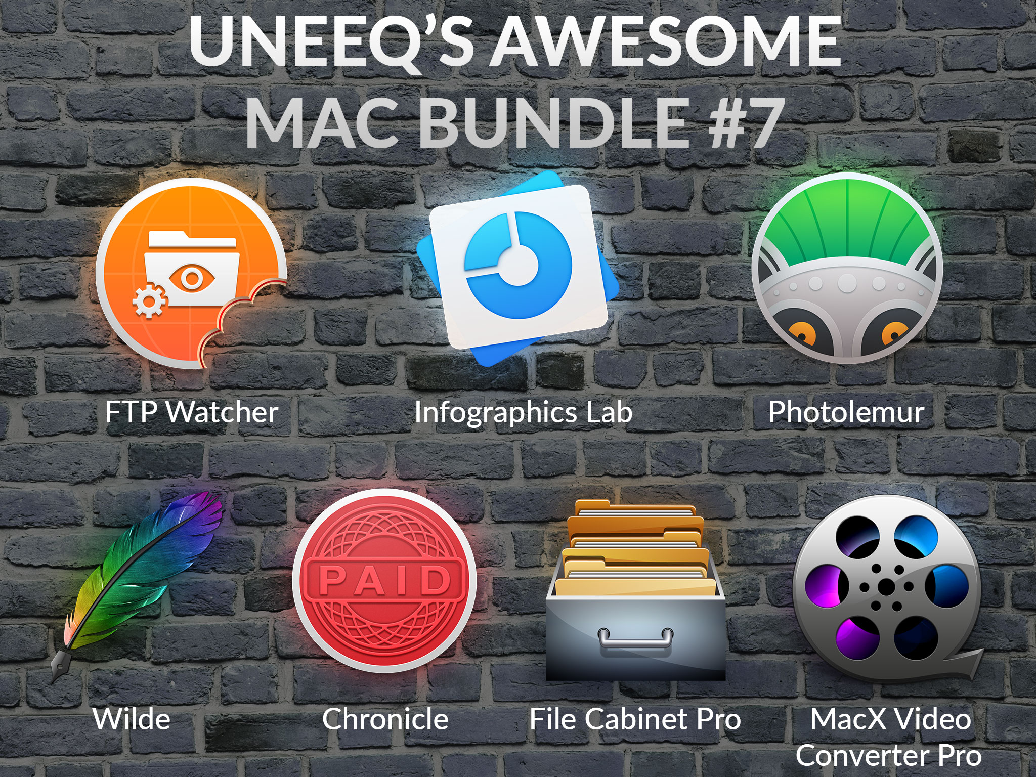 Uneeq Company Launches Awesome Mac Bundle 7