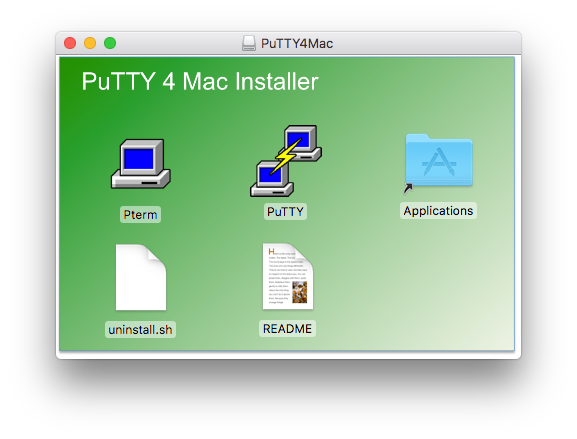 aws – Putty for Mac